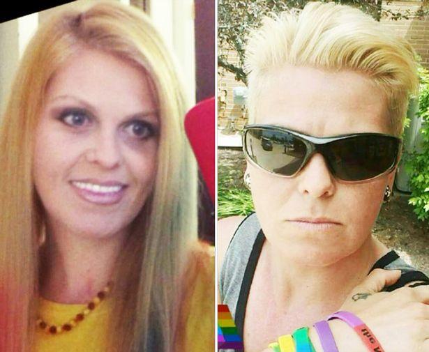 Mujer transgénero antes y después de su transformación