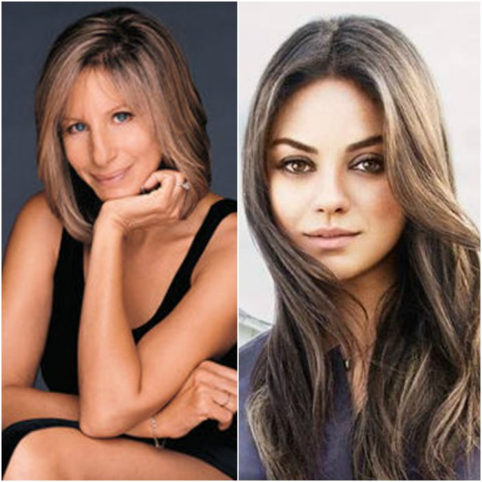 Barbra Streisand y Mila Kunis