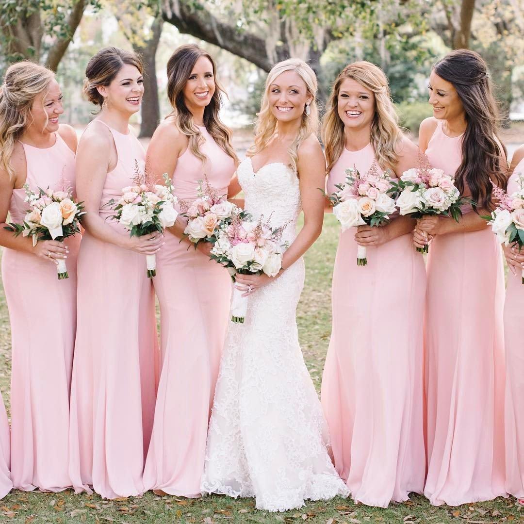 Vestidos para damas de matrimonio 2018
