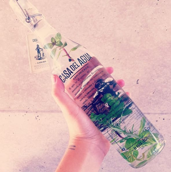 agua hipster
