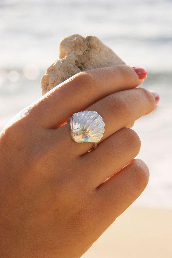 anillo de concha