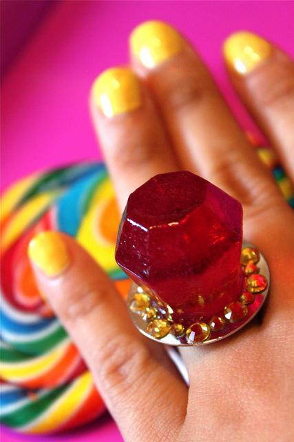 anillo de dulce