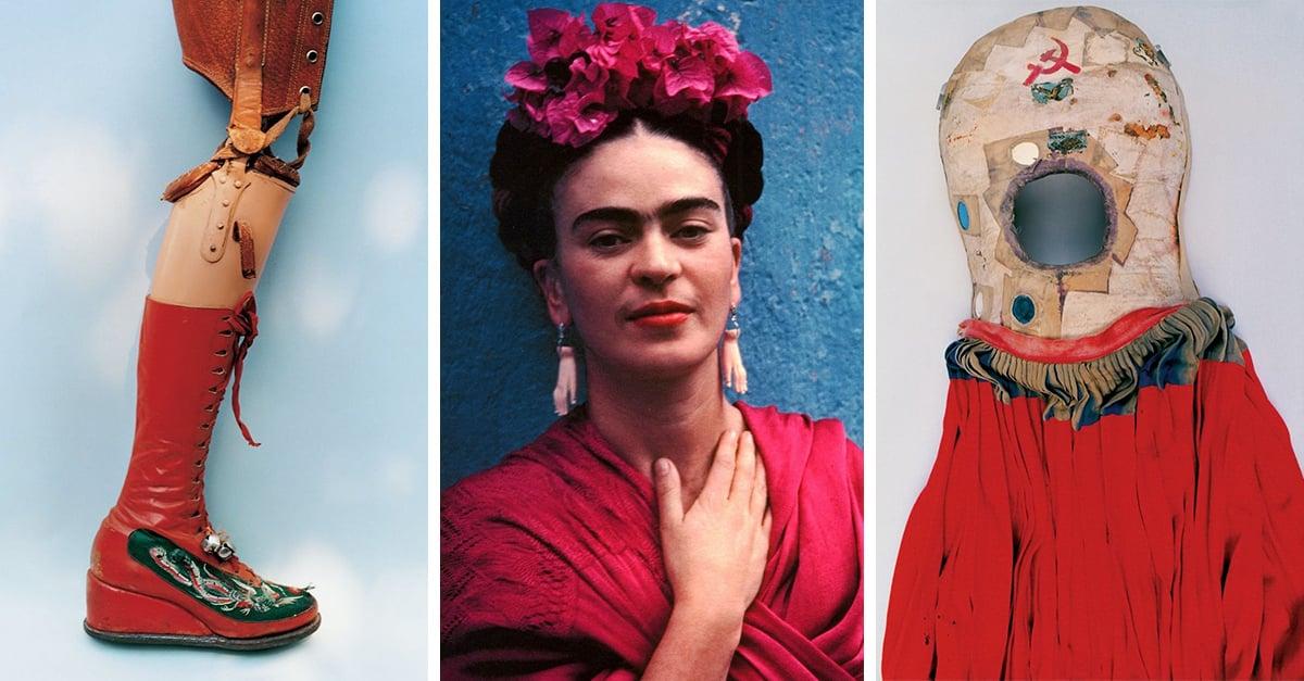15 Objetos que revelan más detalles de la vida de Frida Kahlo