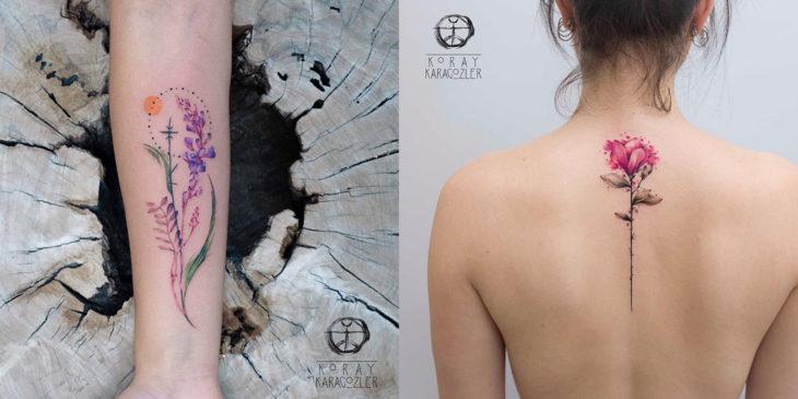 Artista del tatuaje de turquía