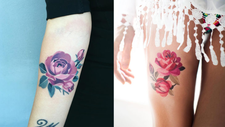 Artista del tatuaje Sasha de Rusia