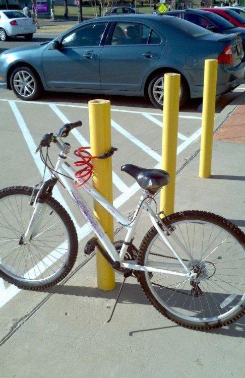 bicicleta a prueba de tontos
