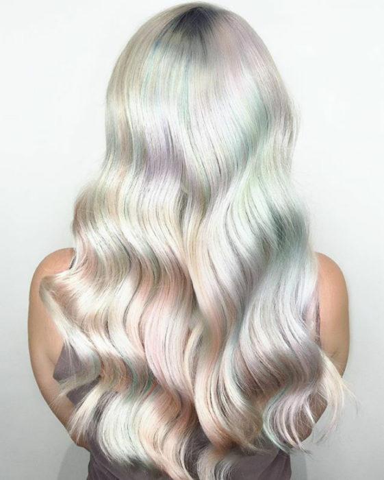 tinte cabello holográfico