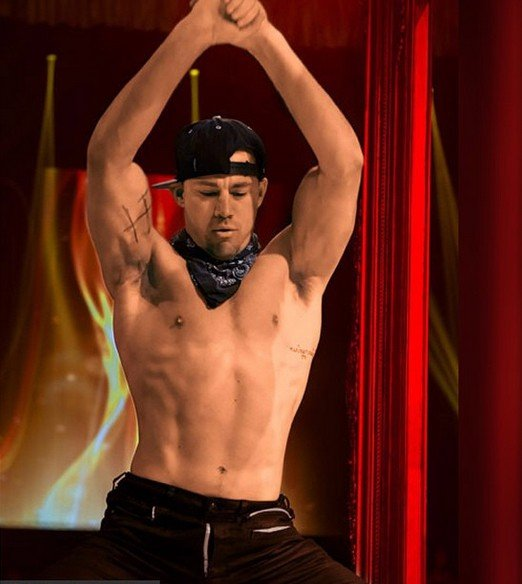 channing tatum stripper