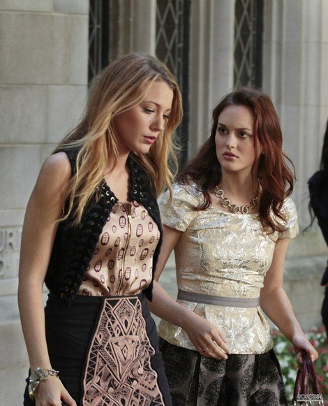 escena de gossip girl