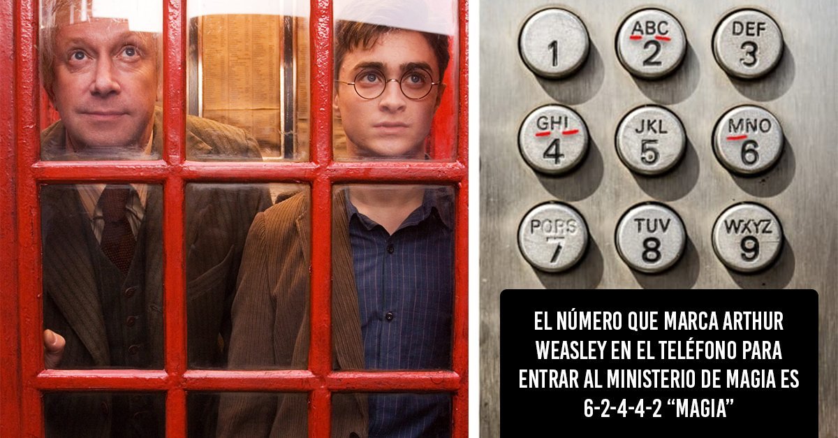 20 Curiosidades divertidas que todos los fans de Harry Potter tienen que conocer