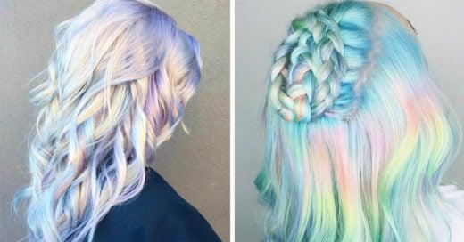 Lista la nueva tendencia 2017: el cabello holográfico