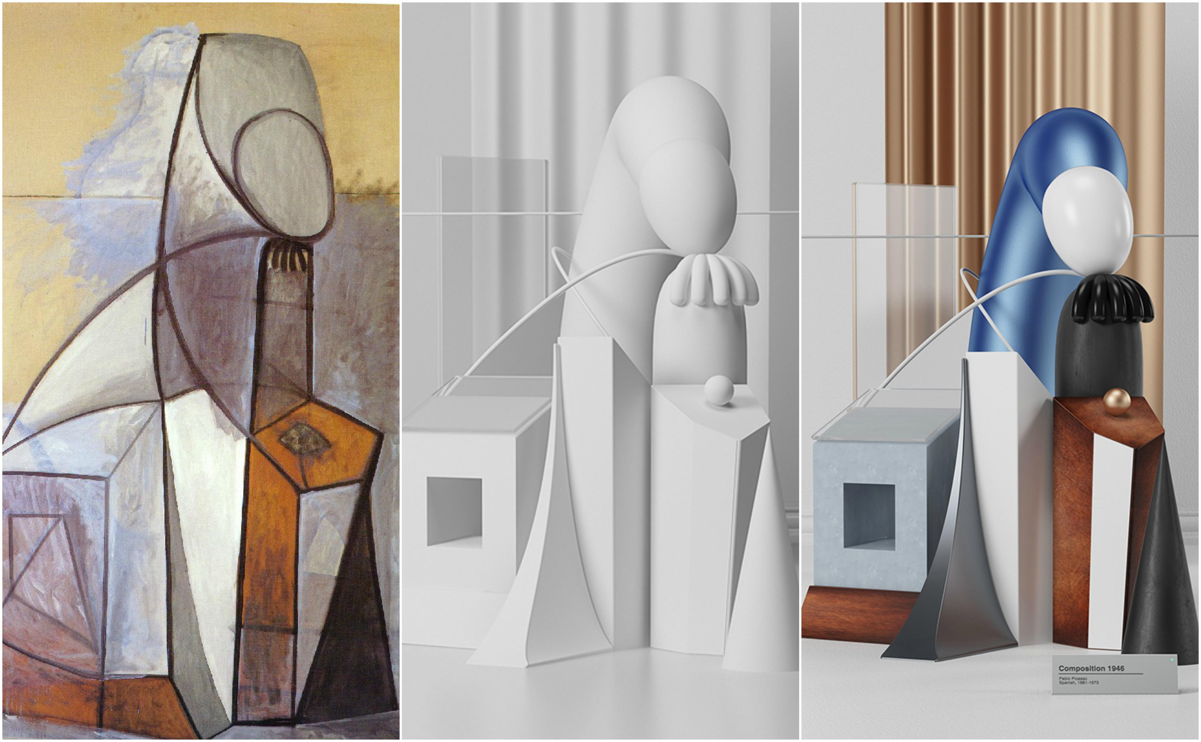 escultura picasso 3