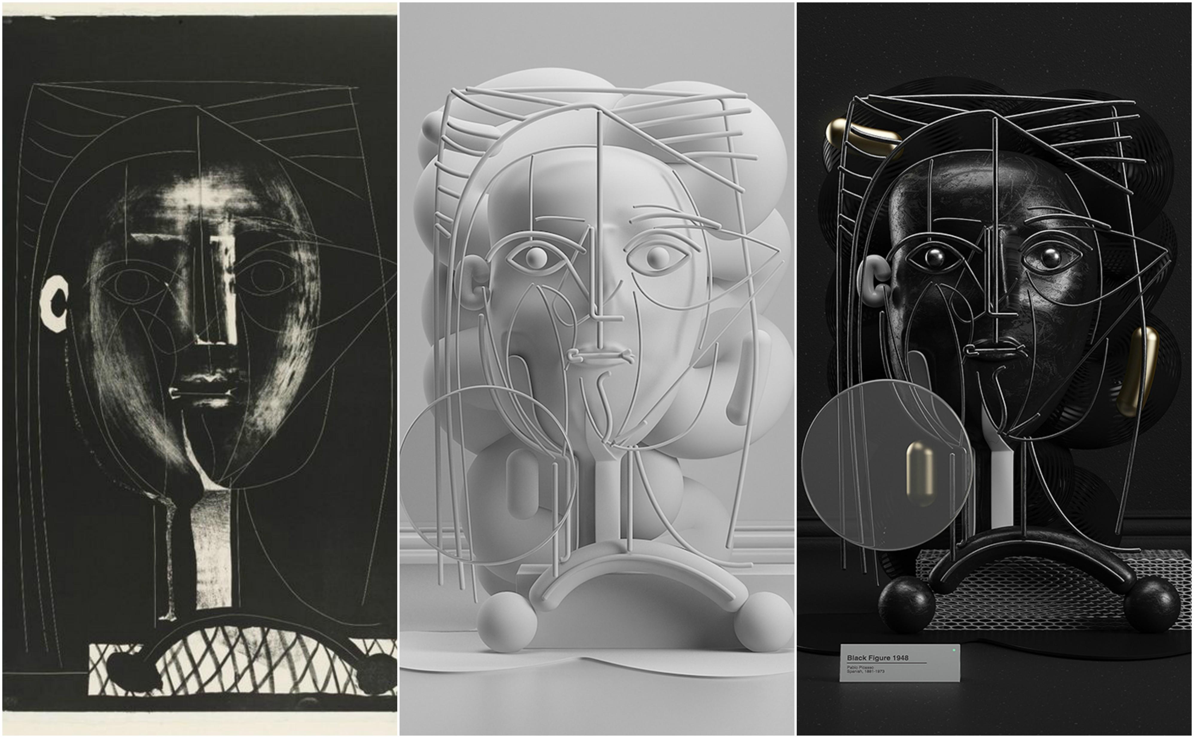 esculturas picasso 1