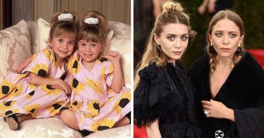 La evolución de las gemelas más famosas: Mary Kate y Ashley Olsen
