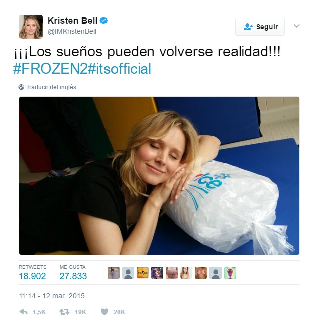 frozen two español