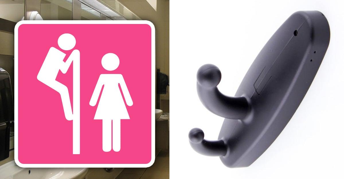 ¡Alerta! Ganchos en baños públicos pueden ser un peligro para las mujeres