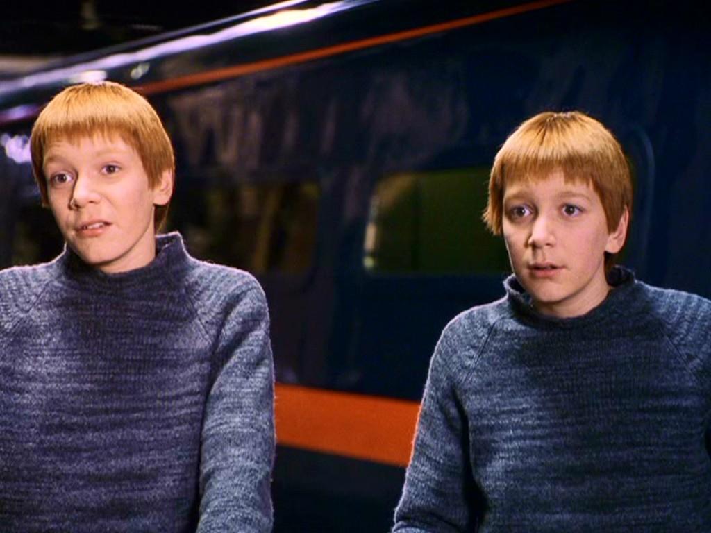 gemelos fred y george