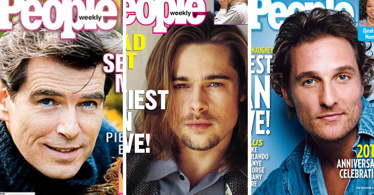 30 Hombres más sexis que desde 1985 han sido portada de la revista 'People'