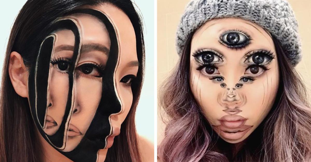 Conoce a Mimi Choi, la artista que logra ilusiones ópticas tan reales con tan solo maquillaje