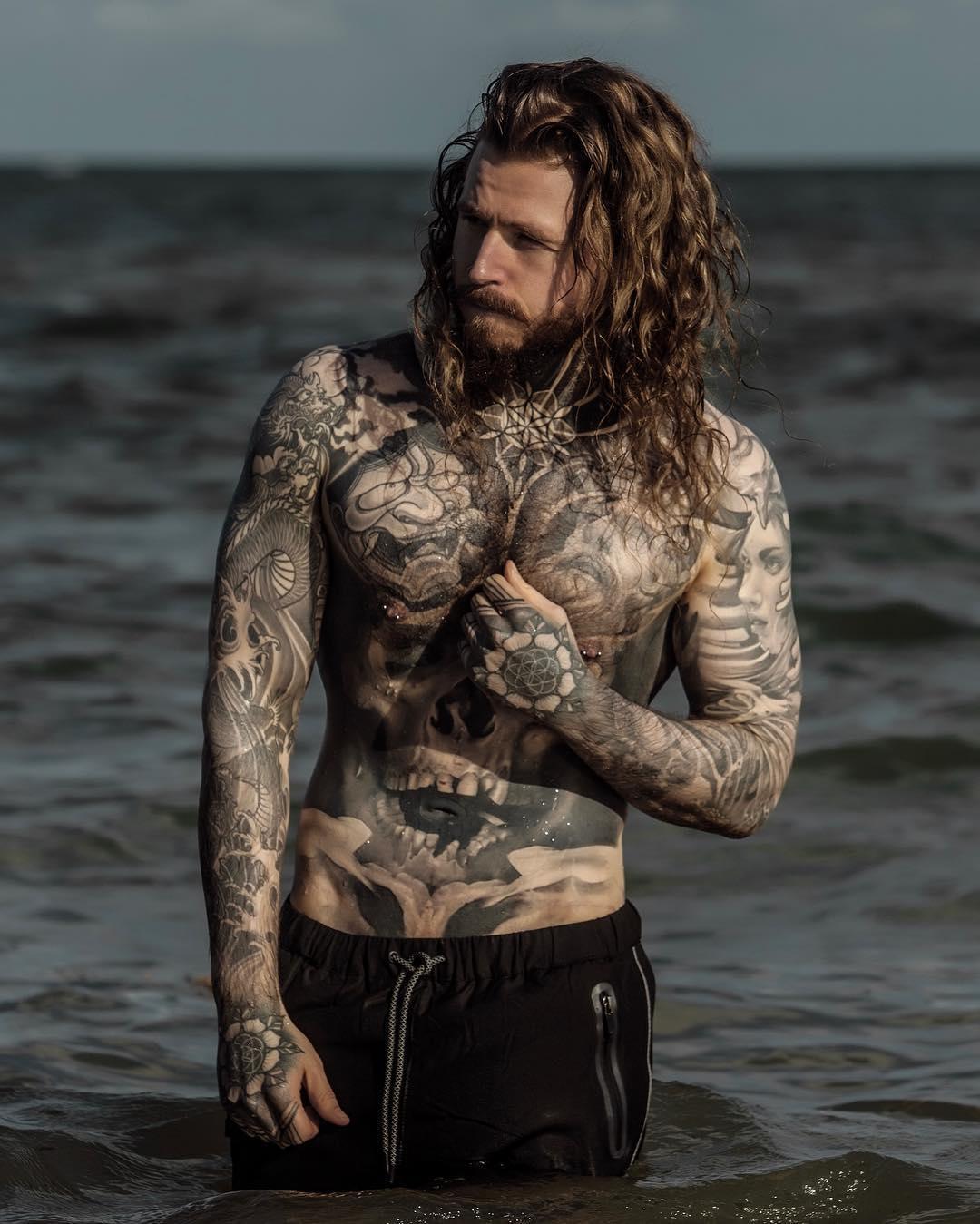 kevin creekman en la playa