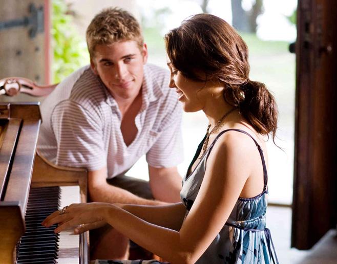 la última canción en el piano