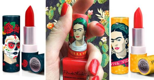 labiales y esmaltes para las admiradoras de Frida Kahlo