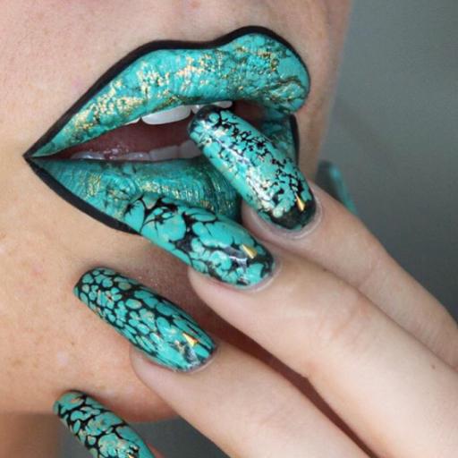 labios mármoleados 2
