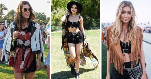 Estos son los mejores looks que dejó el Festival Coachella 2017