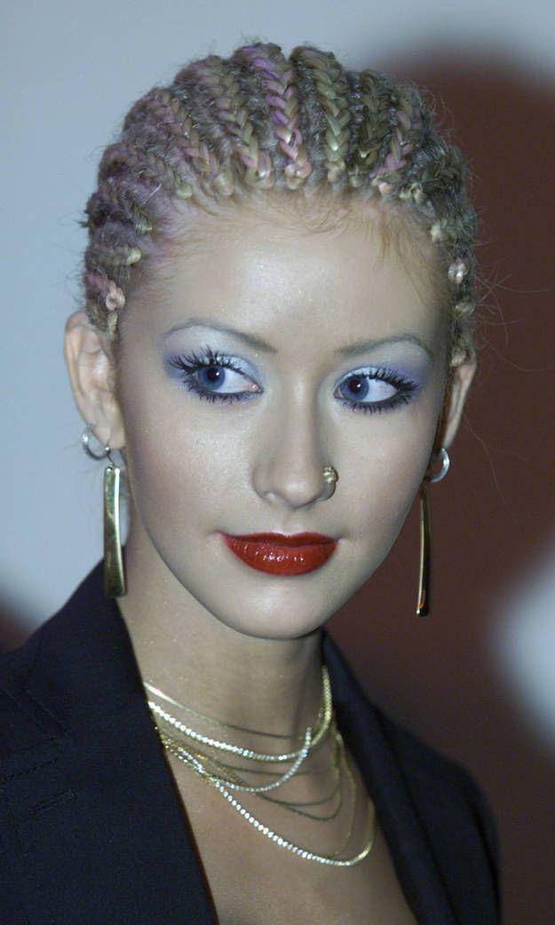 maquillaje chistina aguilera
