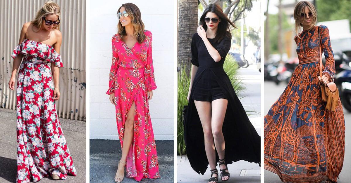 15 Estilos de maxi vestidos que necesitas usar ahora mismo 885ab428e520