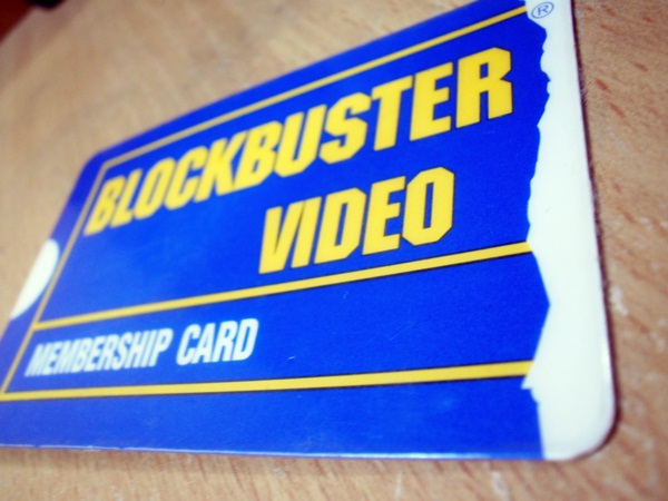 membrecía blockbuster
