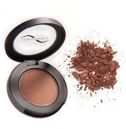 Maquillaje en polvo para las cejas