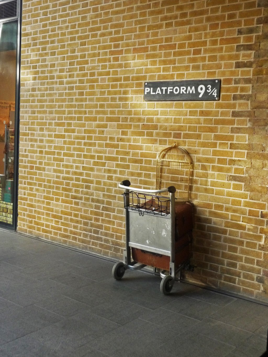 plataforma 9 3-4 king's cross