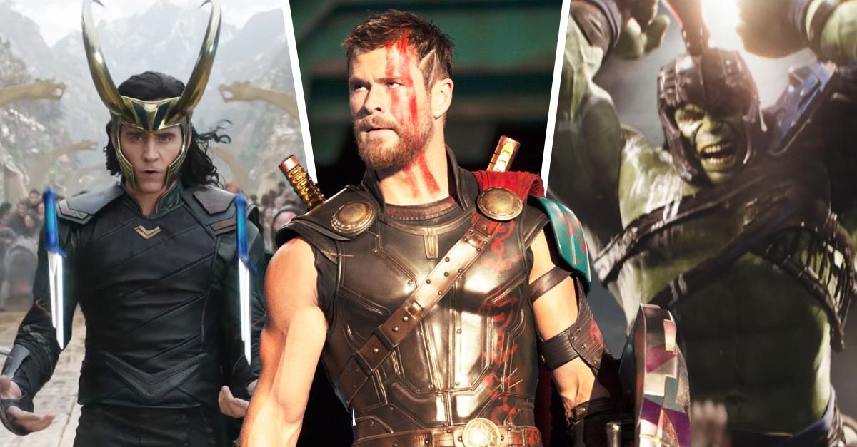 Lanzan nuevo trailer de 'Thor: Ragnarok'... ¡Y Chris es más sexi que nunca!