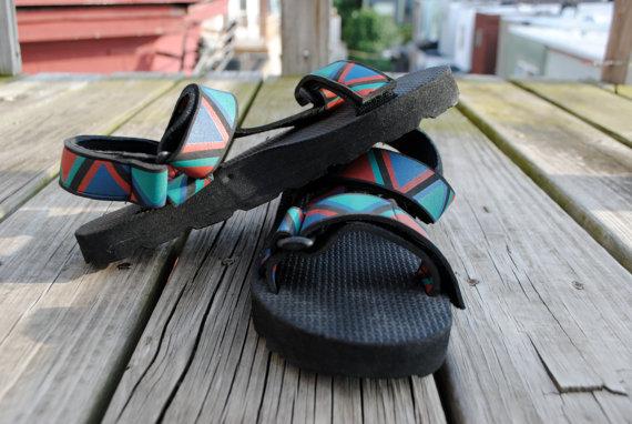 sandalias de hule