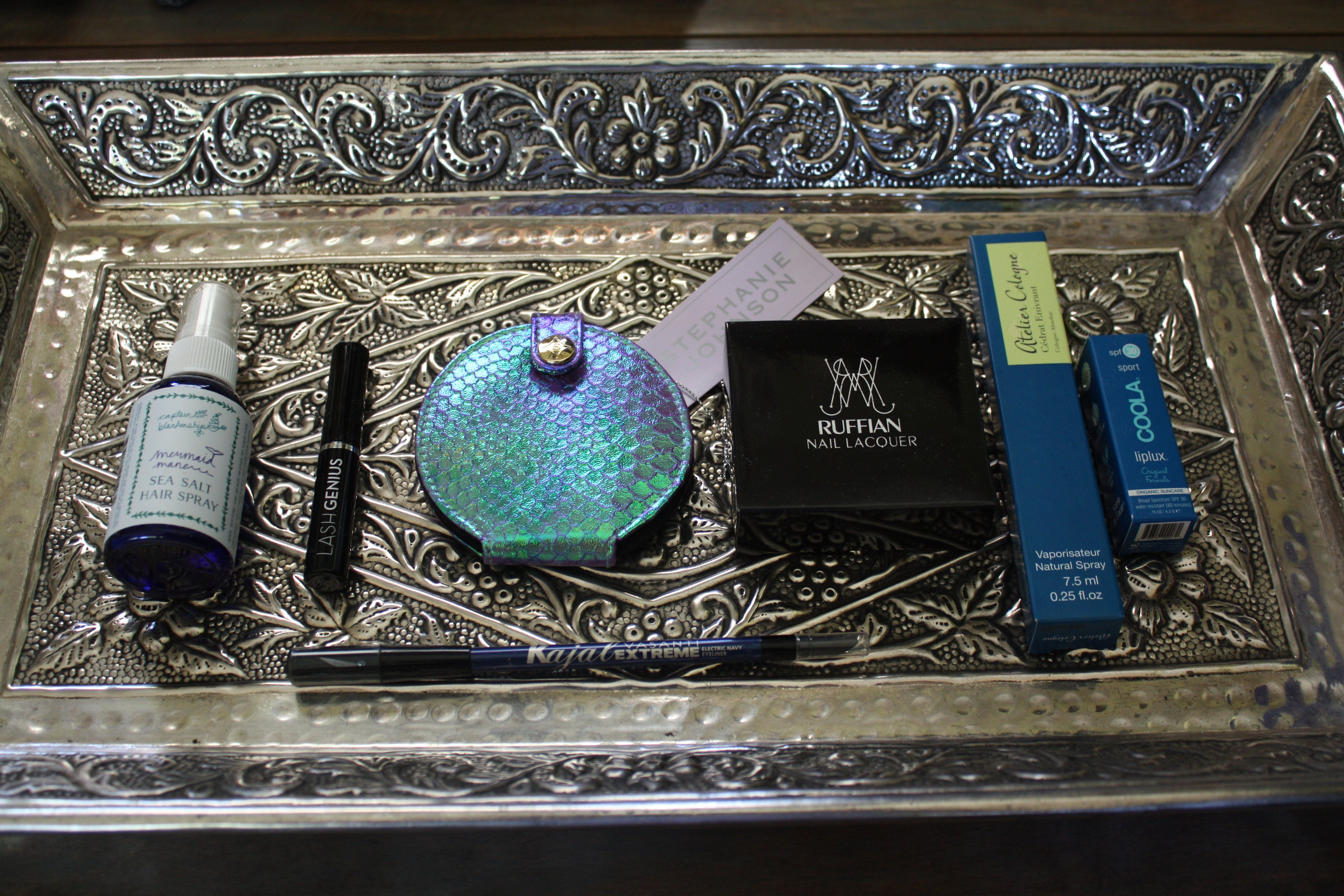 set de maquillaje para sirena