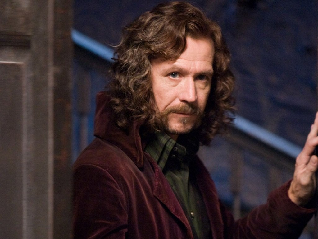 sirius black harry potter