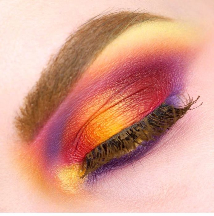 sunset make up 3