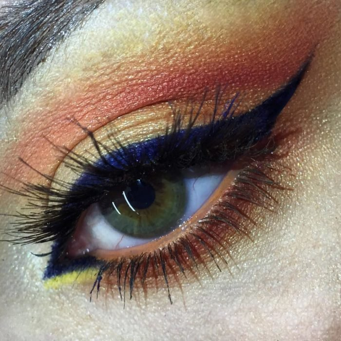 sunset make up 6