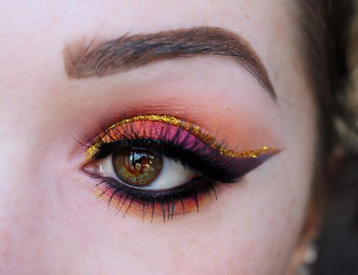 sunset make up inspirada