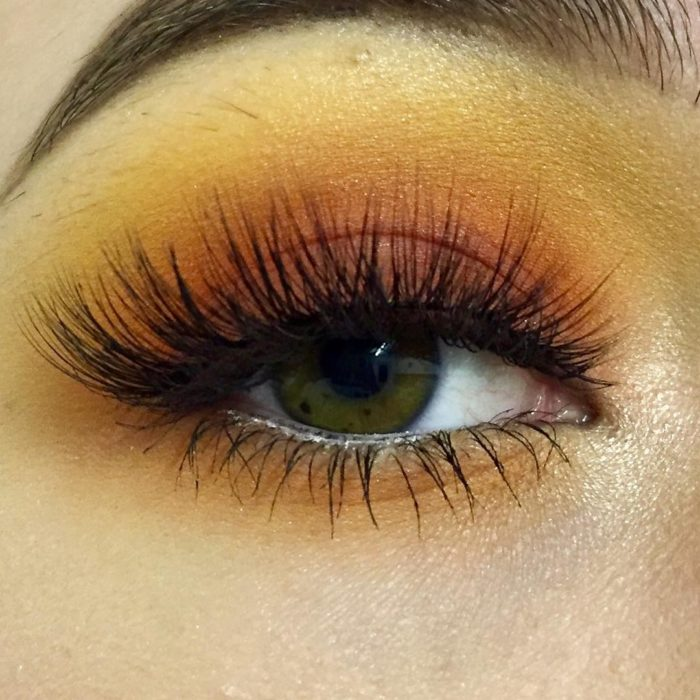 sunset make up inspirado en el atardecer maravilloso