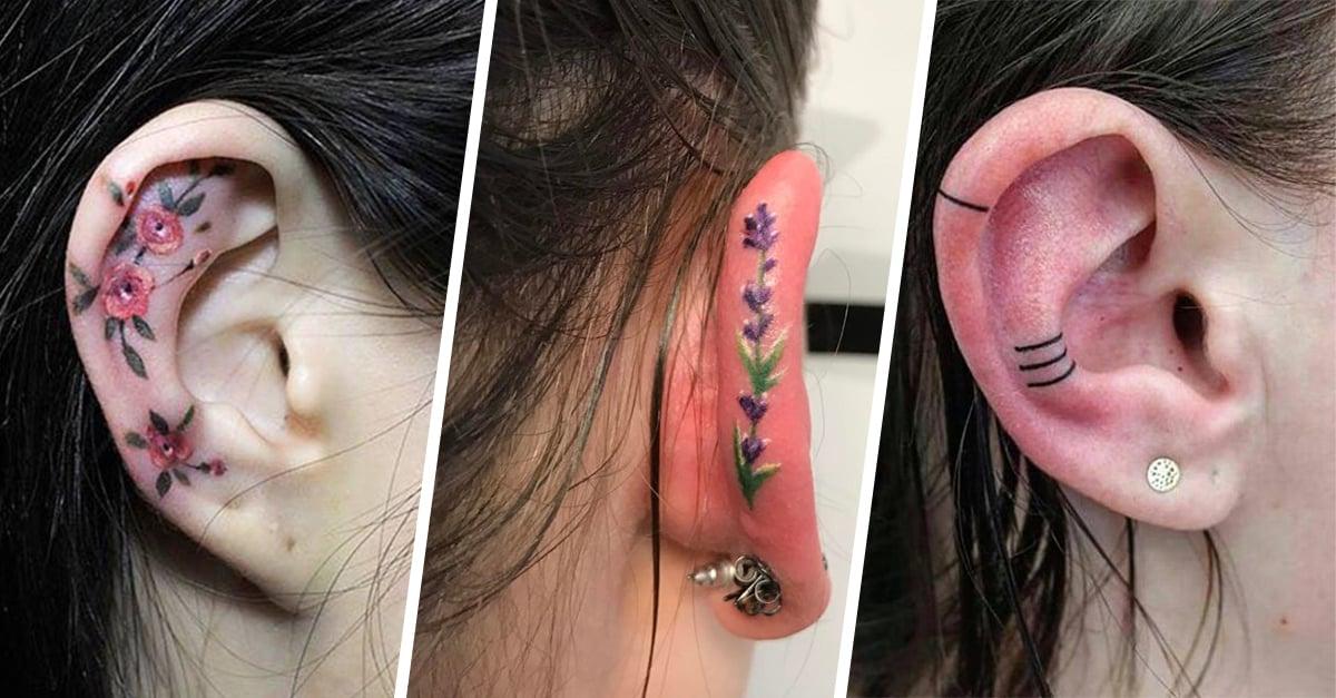 Tatuajes Helix la tendencia que está volviendo loco a Instagram