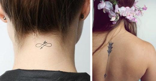 25 Tatuajes en forma de flecha para protegerte del dolor