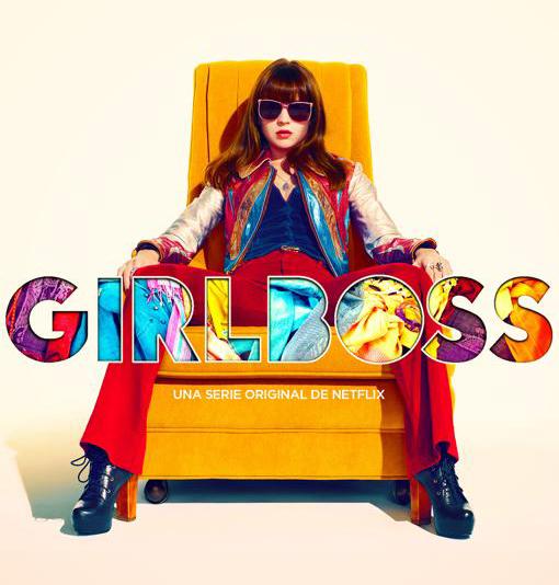 poster oficial de la serie de netflix girlboss