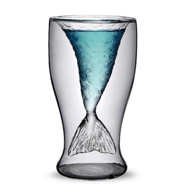vaso cola de sirena