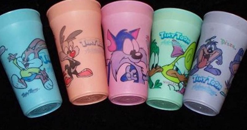 vasos que cambian de color