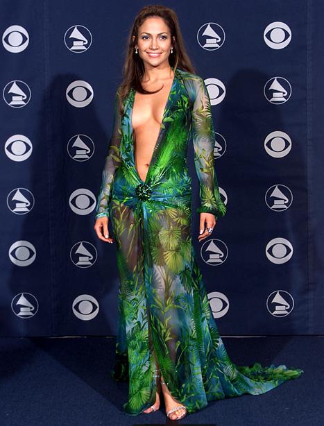 vestido polémico jenifer lopez