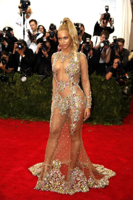vestido polémico beyonce