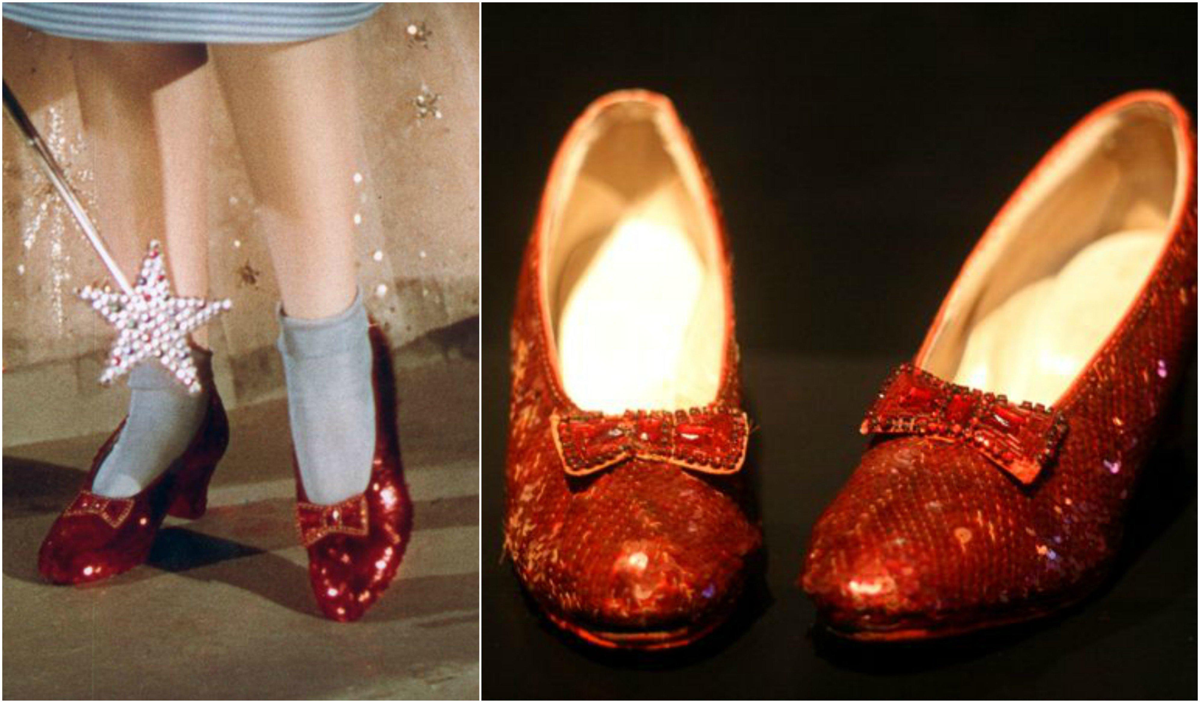 zapatillas rojas de dorothy