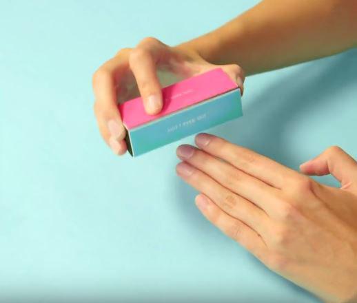 pulir uñas